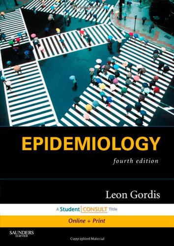 Epidemiology  4th 2008 edition cover