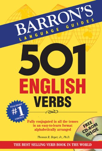 501 English Verbs  3rd 2013 (Revised) edition cover