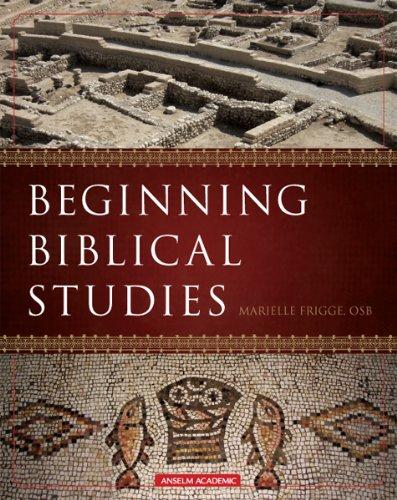 Beginning Biblical Studies  2009 edition cover