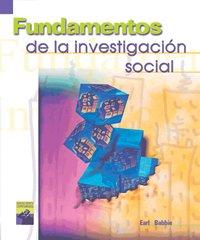 Fundamentos de la investigacion social/ Fundamentals of Social Investigation:  2000 edition cover