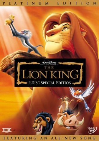 The Lion King (Two-Disc Platinum Edition) System.Collections.Generic.List`1[System.String] artwork