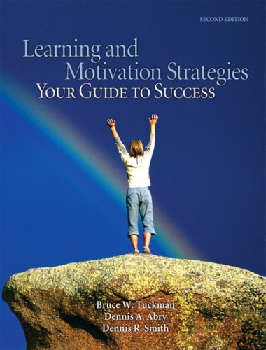 Learning and Motivation Strategies Your Guide to Success 2nd 2008 edition cover