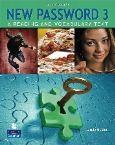 New Password A Reading and Vocabulary Text 2nd 2009 (Student Manual, Study Guide, etc.) edition cover