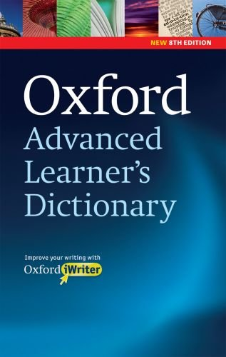 Oxford Advanced Learner's Dictionary  8th 2010 edition cover