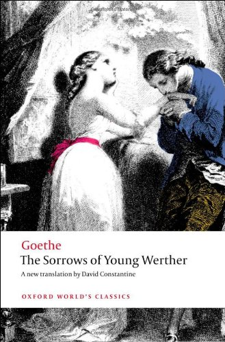 Sorrows of Young Werther   2012 edition cover