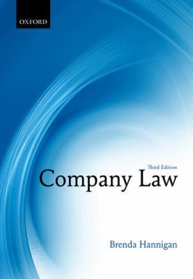 Company Law  3rd 2012 9780199608027 Front Cover