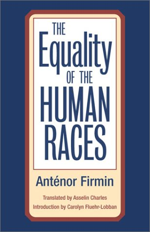 Equality of the Human Races   2002 edition cover