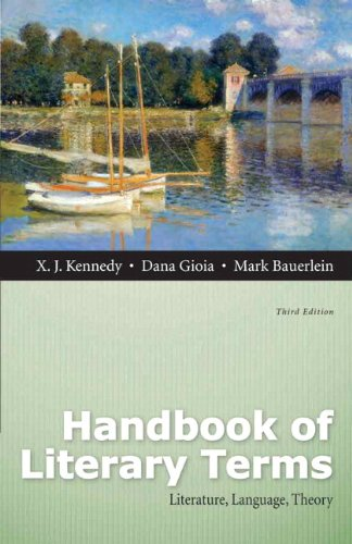 Handbook of Literary Terms Literature, Language, Theory 3rd 2013 edition cover