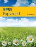 SPSS Explained  2nd 2014 (Revised) edition cover