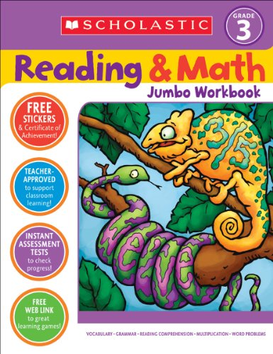 Reading and Math, Grade 3  N/A edition cover