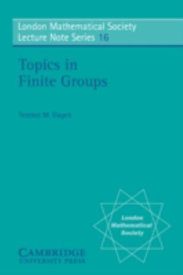 Topics in Finite Groups   1976 9780521210027 Front Cover