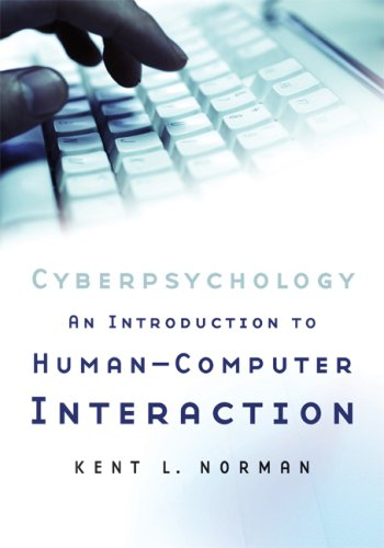 Cyberpsychology An Introduction to Human-Computer Interaction  2008 edition cover