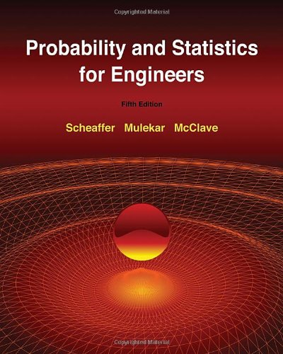 Probability and Statistics for Engineers  5th 2011 edition cover
