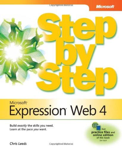 Microsoft�  Expression�  Web 4   2011 edition cover