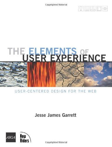 Elements of User Experience User-Centered Design for the Web  2003 edition cover