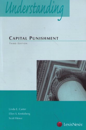 Understanding Capital Punishment Law:  3rd 2012 edition cover