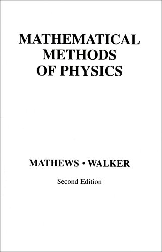 Mathematical Methods of Physics  2nd 1970 edition cover