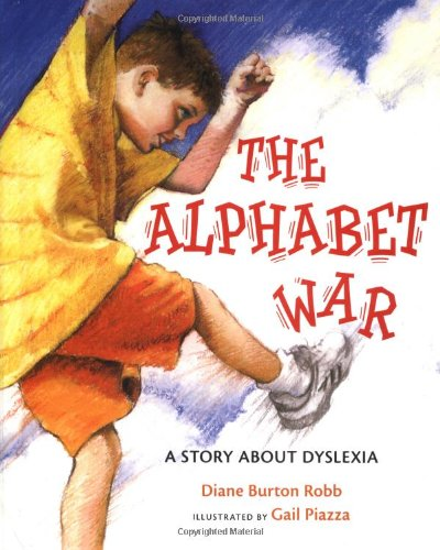 Alphabet War A Story about Dyslexia  2004 edition cover