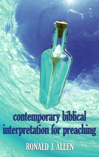 Contemporary Biblical Interpretation for Preaching 1st edition cover