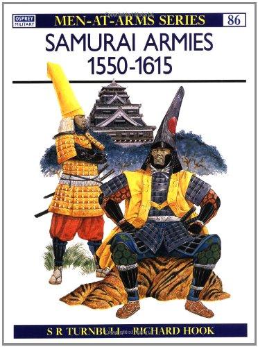 Samurai Armies 1550-1615   1979 edition cover
