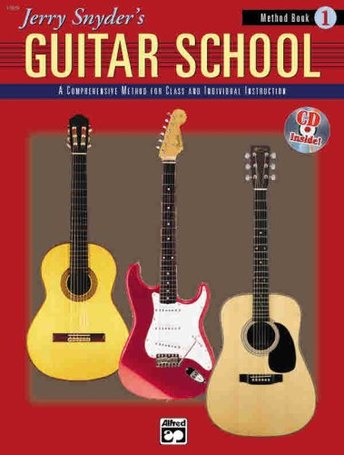 Jerry Snyder's Guitar School, Method Book, Bk 1 Book and CD  1998 edition cover