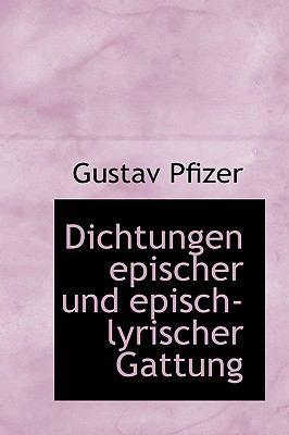 Dichtungen Epischer und Episch-Lyrischer Gattung  2009 edition cover