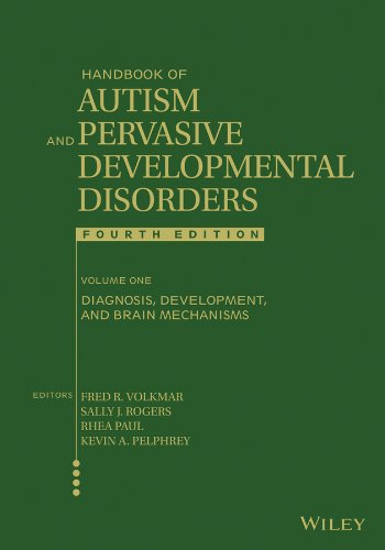 Handbook of Autism and Pervasive Developmental Disorders, Diagnosis, Development, and Brain Mechanisms  4th 2014 edition cover