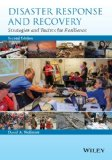 Disaster Response and Recovery Strategies and Tactics for Resilience 2nd 2015 edition cover