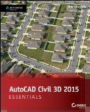 AutoCAD Civil 3D 2015 Essentials   2014 edition cover