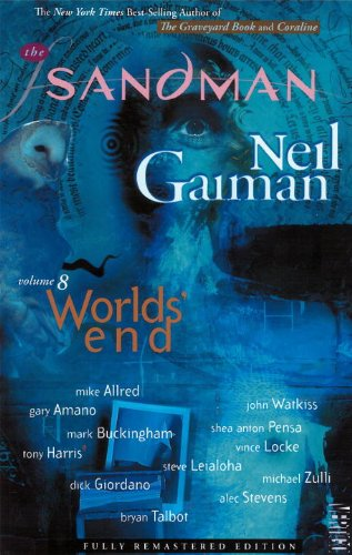 Sandman - Worlds End   2010 9781401234027 Front Cover