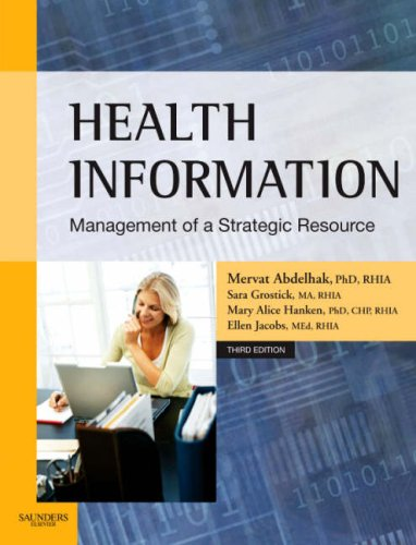 Health Information Management of a Strategic Resource 3rd 2007 (Revised) edition cover