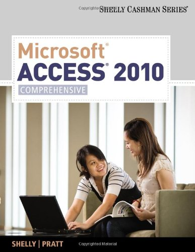 Microsoft� Access 2010 Comprehensive  2011 edition cover
