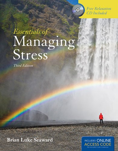 Essentials of Managing Stress:   2013 edition cover