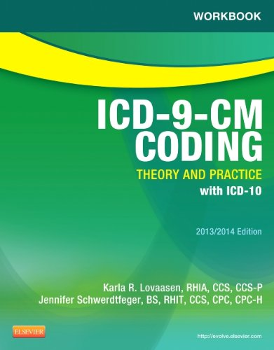 Workbook for ICD-9-CM Coding: Theory and Practice, 2013/2014 Edition  N/A edition cover