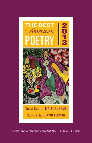Best American Poetry 2013  N/A edition cover