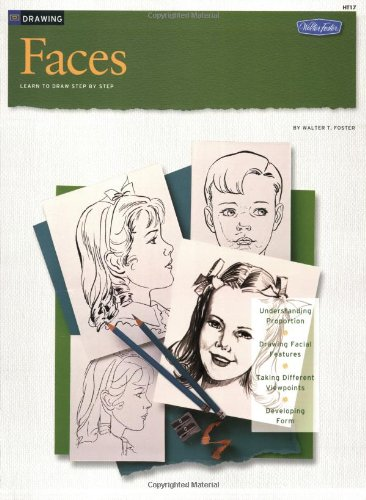 Faces Learn to Paint Step by Step N/A 9781560100027 Front Cover