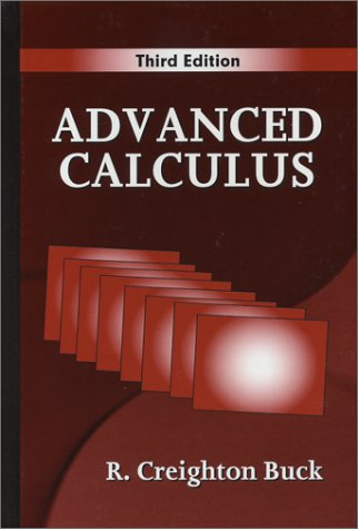 Advanced Calculus  3rd 1978 edition cover