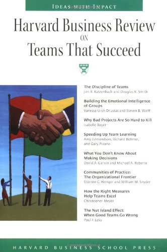 Teams That Succeed Ideas with Impact  2004 edition cover