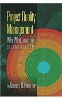Project Quality Management Why, What and How 2nd 2014 edition cover