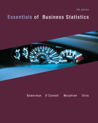 Essentials of Business Statistics with Connect Plus  4th 2012 9780077505028 Front Cover