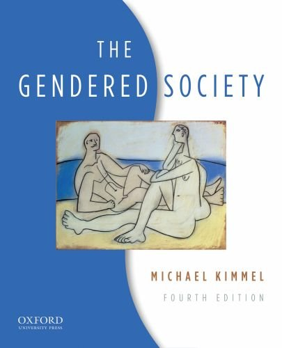 Gendered Society  4th 2010 edition cover
