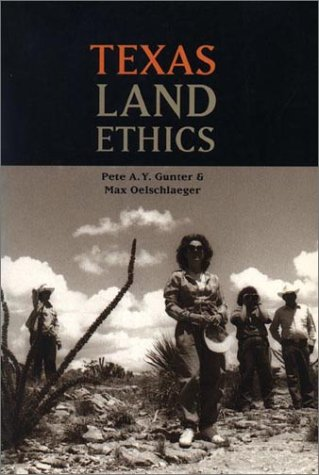 Texas Land Ethics   1997 edition cover