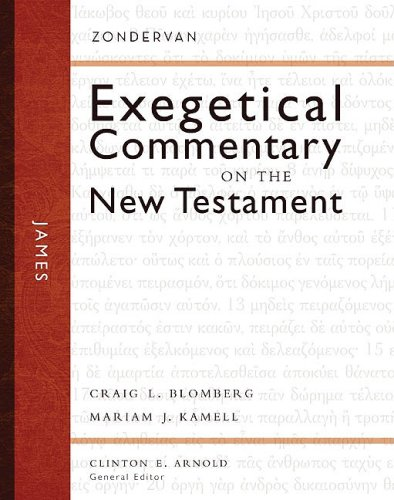 Zondervan Esegetical Commentary on the New Testament James   2008 edition cover