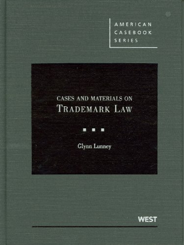 Trademark Law   2010 edition cover