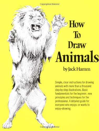 How to Draw Animals   1969 edition cover