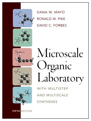 Microscale Organic Laboratory With Multistep and Multiscale Syntheses 5th 2011 edition cover