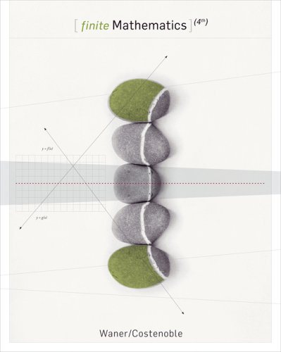 Finite Mathematics  4th 2007 9780495017028 Front Cover