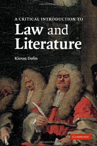 Critical Introduction to Law and Literature  N/A edition cover