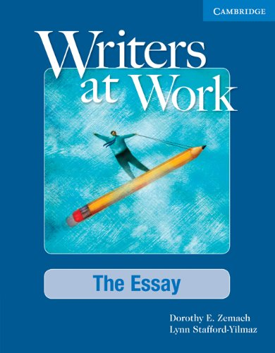 Essay   2008 (Student Manual, Study Guide, etc.) edition cover