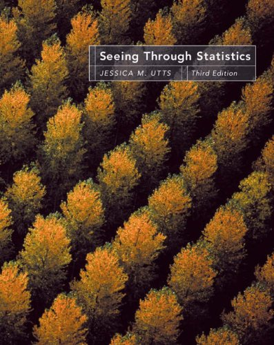 Seeing Through Statistics  3rd 2005 (Revised) 9780534394028 Front Cover